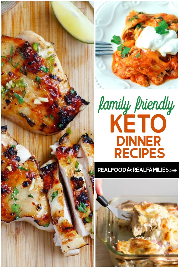 easy family friendly keto dinner recipes