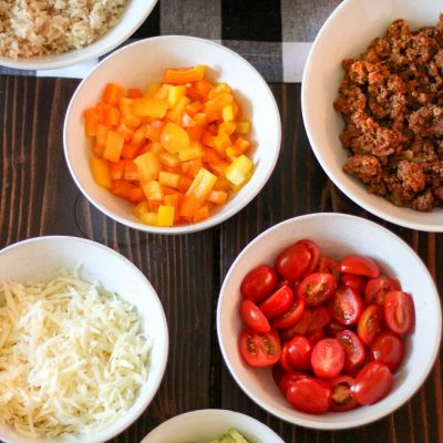 Burrito bowl recipe : easy weeknight dinner