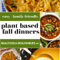 easy family friendly plant based dinner ideas for fall