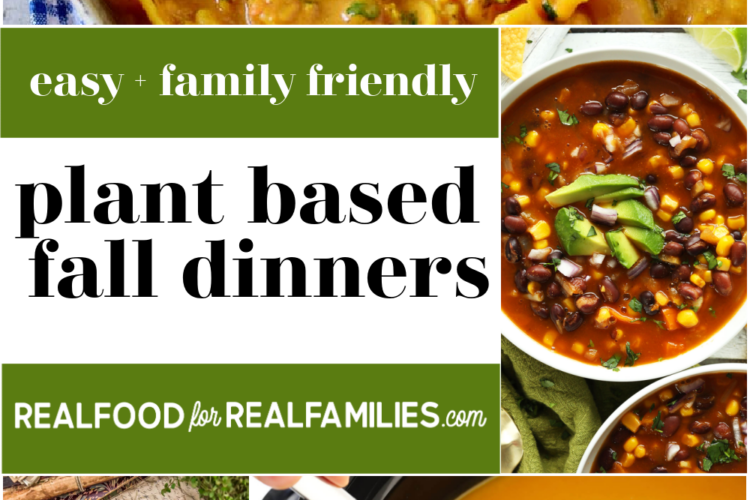easy family friendly plant based dinner ideas for fall