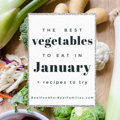 Best vegetables to eat in January